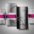 Top Quality Hand-painted Group Modern Abstract Oil Painting on Canvas for Wall Decor XD4-201