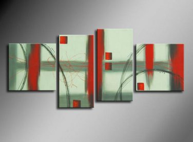 Professional 100% Hand-painted Modern Abstract Oil Painting on Canvas for Wall Decor XD4-232