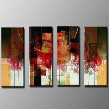 Professional Hand-pained Modern Abstract Oil Painting on Canvas for Wall Decor XD4-218