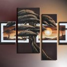 Top Quality Hand-Painted Large Modern Landscape Oil Painting On Canvas for Wall Decoration LA4-037