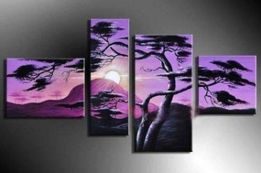 Classical Hand-painted Modern Seascape Canvas Art Oil Painting for Wall Decoration LA4-038