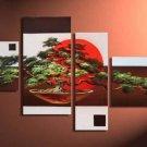 Framed Modern Abstract Landscape Huge Canvas Art Oil Painting LA4-042