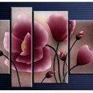 Guaranteed Handpainte Modern Plum Blossom Painting on Canvas for Wall Decor by Professionals FL4-105