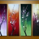 Top Quality Contemporary Flower Oil Painting on Canvas for Wall Decor FL4-108