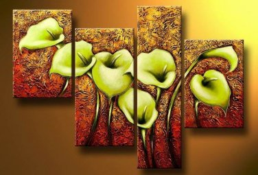 High Quality Professional Floral Modern  Oil Painting on Canvas FL4-147