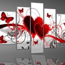 Modern Floral Group Painting Home Decoration Abstract Group Paint Modern Art Wall FL5-052