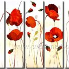 Contemporary Handpainted Huge Flower Oil Painting on Canvas for Home Decor FL5-063