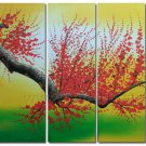 Modern Handpainted Decorative Huge Flower Oil Painting on Canvas by Professionals FL5-064