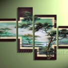 Handpainted African Modern landscape Pine Tree Oil Painting on canvas (+Framed) AR-012