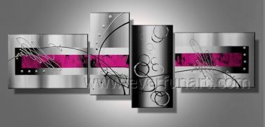 Handpainted Modern Abstract Oil Painting on Canvas (+Framed) XD4-201
