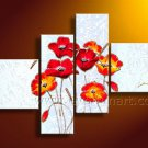 Stretched Canvas Art Flower Oil Painting for Decor FL4-120