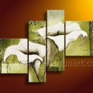 Ready to Hang!! Canvas Art Flower Oil Painting FL4-126