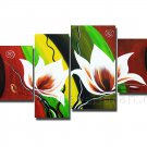 Stretched!! Home Decoration Flower Oil Painting FL4-127