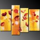 100% Handmade Flower Oil Painting on Canvas (+Framed) FL4-143