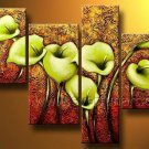 Home Decor Flower Oil Painting on Canvas (+Framed) FL4-147