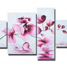 Hand Painted Flower Oil Painting for Decor (+Framed) FL4-152