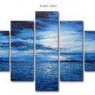100% Hand Painted Seascape Oil Painting on Canvas (+Framed) SE-183
