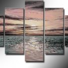 Beautiful Waves Seascape Oil Painting on Canvas (+ Framed) SE-185