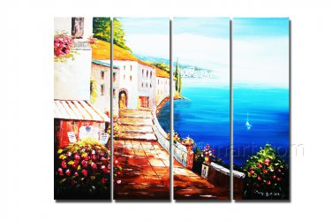 100% Handmade Seascape Oil Painting on Canvas (+ Framed ) SE-207