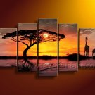 Home Decoration African Oil Painting (+ Framed) AR-101
