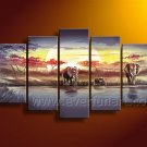 Home Decor Handmade African Painting (+ Frame) AR-104
