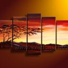 Home Decoration African Art Painting on Canvas (+ Frame) AR-106