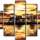 Hot Sale! Modern African Art Oil Painting for Decor (+ Frame) AR-108