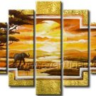 Amazing Wall Art African Oil Painting for Decor (+ Frame) AR-110
