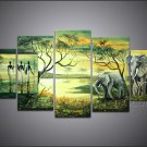 Home Decoration African Art Oil Painting (+ Frame) AR-114