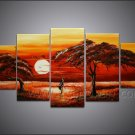 Wall Decoration African Art Canvas Painting (+ Frame) AR-119