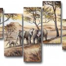 100% Hand Painted African Art Canvas Painting (+ Frame) AR-126