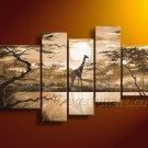 100% Handmade Wall Decor African Art Oil Painting (+ Framed) AR-135