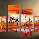 Modern Canvas Art Wall Decor Oil Painting (+ Framed) AR-140