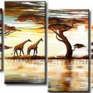 Home Decoration Huge Canvas Art African Oil Painting (+ Framed) AR-144