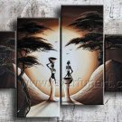 Wall Decor Huge Canvas Art African Oil Painting (+ Framed) AR-146