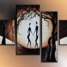 100% Handmade Canvas Art African Oil Painting (+Framed) AR-149