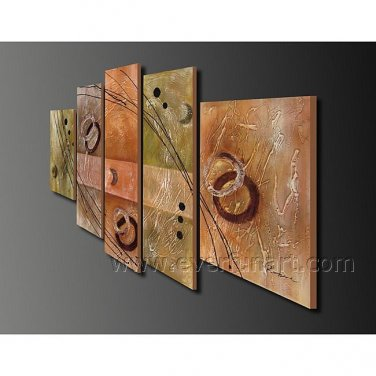 Huge Wall Art Abstract Oil Painting on Canvas (+Framed) XD5-088