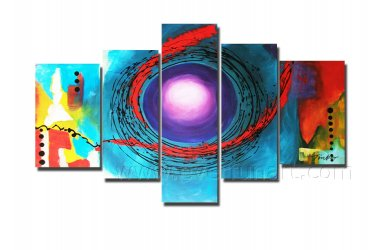 Large Size Wall Decor Abstract Oil Painting (+Framed) XD5-090