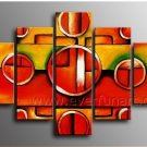 Hand Painted Abstract Oil Painting on Canvas (+Framed) XD5-096