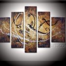 Canvas Abstract Oil Painting for Home Decor (+Framed) XD5-097