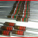 25 NEW 1.5K & 5 2.2K ½ W Carbon Composition Resistors 5/10%