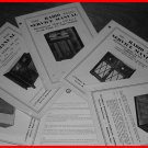RARE Vintage 1940-1950's WESTINGHOUSE Radio Phono Manuals