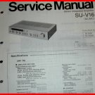 SERVICE MANUAL for Technics Stereo Integrated Amplifier SU-V16 NEW NOS SC-2020D