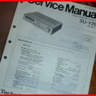 SERVICE MANUAL Technics Stereo Integrated Amplifier SU-V26 NEW NOS SC-2040D 2060