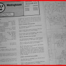 WESTINGHOUSE 1973 COMPONENT Stereo Radio Phono Service Manual RCF9615 9625 9635
