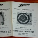 3 BIG NEW Service Manuals Garrard BSR Heathkit/ZENITH Turntables Z923 Z924 Z925