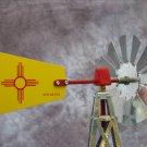 17 Inch Mini Windmill New Mexico Tail