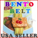 Cherry Bento Japanese Lunch Box Belt - Elastic Strap From Japan NEW