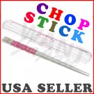 NEW Pink Heart Chopstick 18cm for Bento Box Japanese Hashi