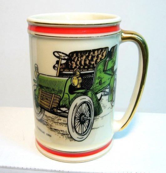 Very Nice Hyalyn 1904 Cadillac Mug - collectible